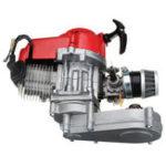 Оригинал 49cc Двигатель 2-тактный пусковой механизм с коробкой передач для мини-мотоцикла