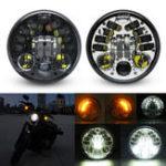 Оригинал 5.75inch 70W LED Headlight Daymaker для Harley Davidson Dyna Breakout Fatboy DOT