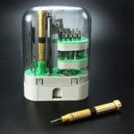 Оригинал Precision Magnetic Отвертка Инструмент Ремонт телефона / ПК / ноутбука Гибкий вал Ratchet Отвертка Set