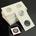 Оригинал 50шт 17,5 мм-40 мм держатели для хранения монет для хранения бумаги Сумки Flip 2×2 Flips Coin Collection Office Decor