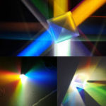 Оригинал 20x20mm K9 Цветовая комбинация Prism Square Cube RGB Обучение Набор Украшение