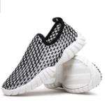 Оригинал MensDrivingSliponLoafersRunning Summer Breathable Mesh Casual Shoes