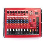 Оригинал EL M PMR806D-USB 8-канальный Bluetooth Беспроводной микшерный пульт Karaoke KTV DJ Mixer