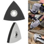 Оригинал 3001S 80мм из нержавеющей стали Треугольный песочный диск Осциллирующий Multi Инструмент