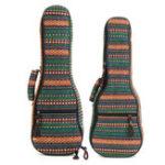 Оригинал 21 23 дюймов Традиционный укулеле Чехол Soft Мягкая ручка защищает рюкзак Cover Gig Сумка