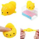 Оригинал Кот Котенок Squishy Squeeze Cute Toy Kawaii Коллекция Освежитель подарков Подарочный декор с упаковкой