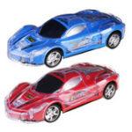 Оригинал BocaiToys1/2427MHZSuperSpeed RC Racing Авто С 3D Flashing Светодиодный Музыка