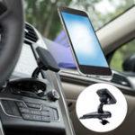 Оригинал Универсальное магнитное вращение Авто Монтажный держатель для CD-плеера для мобильного телефона Xiaomi iPhone 8 X