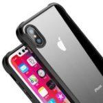 Оригинал iPakyПолныйпрозрачныйпрозрачныйакрили ТПУ Чехол с закаленной стеклянной пленкой для iPhoneX