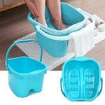 Оригинал Коврик для ванны для ног с ручкой Detox Spa Tub Feet Body Care