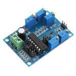Оригинал ICL8038 Генератор сигналов Средняя / Низкая частота 10 Гц-450 кГц Треугольный / прямоугольный / синусоидальный генератор Модуль 12 В до 15 В