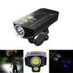 Оригинал NitecoreBR351800LMXM-L2U2OLED Дисплей Двойной дистанционный пучок 6800mAh Lithium Батарея Перезаряжаемый передний фонарь велосипеда