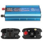 Оригинал DC 12V до AC 220V 1600W LCD Digital Солнечная Зарядное устройство для адаптера питания инвертора