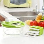 Оригинал HonanaKT-508Многофункциональный5в1 овощной машине для измельчителя пищевых продуктов Машина резки Slicer Julienne