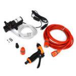 Оригинал 12V Портативная 80W 160 PSI Электрическая шайба высокого давления Шланг Wash Насос Набор