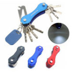 Оригинал AOTDDOR Многофункциональный алюминиевый портативный ключ Clip Clip KeyChain EDC Инструмент