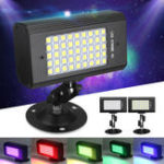 Оригинал 23W 45 LED RGB / White Light Sound-Activated Stroboflash Stage Light для DJ Club KTV AC100-240V