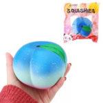 Оригинал  Ikuurani Squishy Peach 10.5CM Super Slow Rising Cream Ароматизированный оригинальный пакет для телефона с ремешком для телефона