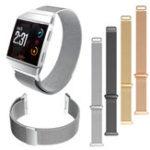 Оригинал Миланская нержавеющая сталь Smart Watch Стандарты Сменный ремень для Fitbit Ionic
