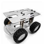 Оригинал DIY RC Robot Chassis Tank Авто Набор Металл Авто Шасси