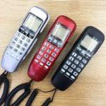 Оригинал KX-T888CID Настенное крепление Английская версия Проводной телефон Телефон Домашний офис Рабочий стол Телефонный номер Caller ID