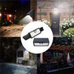Оригинал 71 LED Солнечная Powered Motion Датчик Настенный светильник Stretchable Водонепроницаемы На открытом воздухе Sercurity Лампа