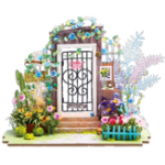 Оригинал Robotime DG-M02 DIY Doll House Miniature With Furniture Wooden Dollhouse Toy Decor Craft Gift
