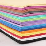 Оригинал 32PCS A4 2 мм пенные листы для губчатой бумаги DIY Материал для изготовления пенных цветов DIY Ювелирные изделия 16 Цвет