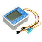 Оригинал G3 / 4Inch Flow Water Датчик Meter Digital LCD Дисплей Количественный контроль 1-60L / mi