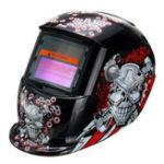 Оригинал Солнечная Автомат для потемнения Сварочный шлем Tig Маска Шлифовальная сварка Маска Машина Clown Шаблон