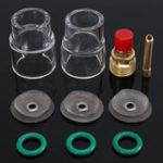 Оригинал 10Pcs 3 / 32inch 2.4mm TIG Сварочный стаканчик для стекла Torque Набор Для WP-9/20