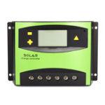 Оригинал 60A PWM Солнечная Контроллер заряда Батарея Регулятор с LCD Дисплей