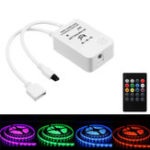 Оригинал DC5-24V Mini Wireless Music Controller with 20Keys Remote Control for RGB RGBW LED Strip Light