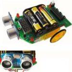 Оригинал D2-4 Intelligent Ranging Авто DIY Набор Ультразвуковой измерительный модуль 10.8cm * 7cm Размер платы