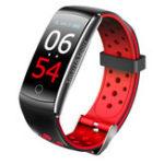 Оригинал Bakeey Q8S IPS Цветной экран Спорт Bluetooth IP68 Кровяное давление Smart Watch Wristband