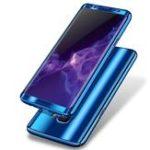 Оригинал BakeeyПлакировка360°Полныйкорпус ПК Передняя + задняя крышка Защитный чехол + HD-пленка для Samsung Galaxy S9/S9 Plus