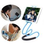 Оригинал Bakeey Подвеска Шея Вращение на 360 градусов Лёгкая настольная подставка для настольного компьютера для сотового телефона Xiaomi iPad