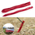 Оригинал Naturehike NH17D024-D Tent Pegs 7001 Aluminium Alloy Nails Camping Stake Accessories