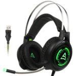 Оригинал Supsoo G815 USB Wired Gaming Наушники-наушники-вкладыши с Микрофон Line Control