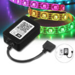 Оригинал DC12V 4PIN Mini ECHO Alexa Remote Control WiFi Controller for RGB LED Strip Light