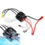 Оригинал HobbyWing QuicRun WP-8BL150 Черный 1/8 Бесколлекторный WaterProof 150A ESC для RC Авто частей