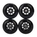 Оригинал 4PCS / Set 80x44mm Blank Pro Longboard Skateboard Wheels 80A