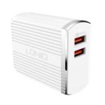 Оригинал LDNIO A2502Q 30W Dual USB QC3.0 Универсальное зарядное устройство для Samsung S8 Plus Xiaomi Huawei