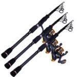Оригинал ZANLURE1.8-3.0mУглеродныйсверхтвердыйультралегкийтелескопический спиннинговый Рыбалка Rod Sea Lake Рыбалка Rod
