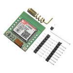 Оригинал Самый маленький SIM800C GPRS GSM Модуль MicroSIM Card Core Board Quad-band TTL Serial Port (совместимый SIM800L SIM900A)