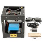 Оригинал Черный NEJE 500 мВт USB DIY Лазер Принтер для гравировального принтера Гравировка принтера Картинка Лазер Гравировальная машина