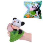 Оригинал Vlampo Squishy Panda Potted 15CM медленно растет с подарком коллекции упаковки Soft Toy