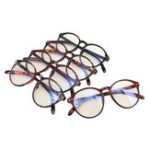 Оригинал ВинтажКруглаярамкадляочковОчки Ретро-очки Clear Объектив Eyewear