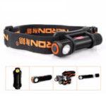 Оригинал NicronH12XP-E2R3120Lumens3Modes Dimming съемный вращающийся LED фонарик фары 18650