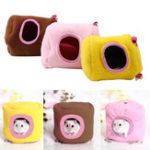 Оригинал  ДомашнийживотныйвисячийдомГамакМаленькие животные Хлопок Хомяк Клетка Спящее гнездо Pet Кровать Кейдж Pet Toys